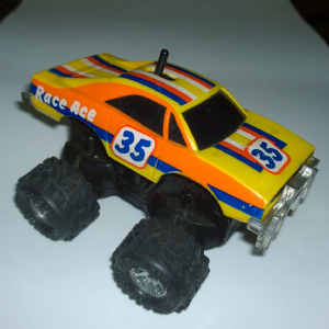 Rough Riders  Roadbusters Dodge Charger race ace LJN 1983 @sold@